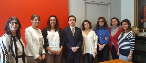 El Consulado General de Colombia en Roma posesionó a Sandra Patricia Franco Raad como Cónsul de Primera