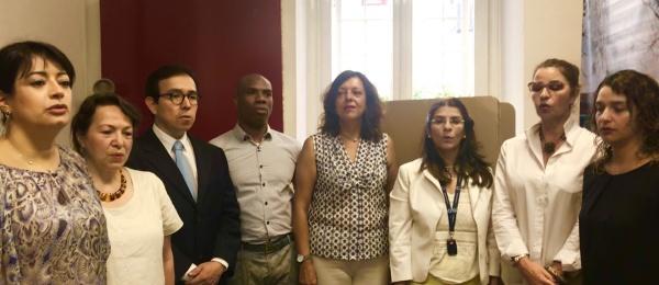 Inició la jornada electoral presidencial 2018 para la segunda vuelta en el Consulado de Colombia en Roma