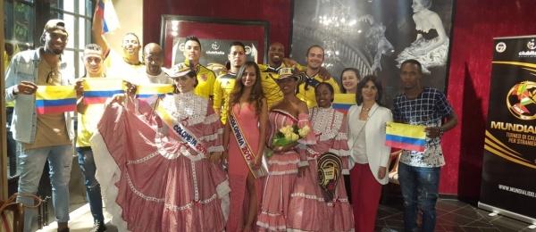 """La Cónsul de Colombia en Roma acompañó a la delegación colombiana que participó en """"Mundialido"""""""