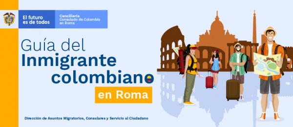 Guía del Inmigrante colombiano en Roma